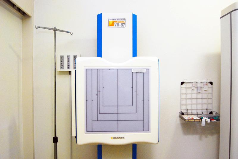 胸部X線装置
